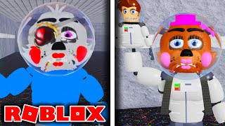 Roblox Sister Location Rp All Badges How To Get Forgotten Candy And Prototype Freddy Badges Roblox Fnaf Sister Location The Underground دیدئو Dideo