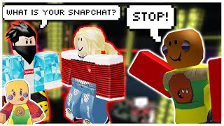 Club Tesla Roblox Catching Online Daters In Club Insanity Roblox دیدئو Dideo