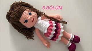Amigurumi defne bebek ayak yapilisi (amigurumidoll) - YouTube | 180x320