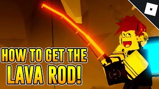 Getting The Lava Rod Roblox Fishing Simulator 3 دیدئو Dideo