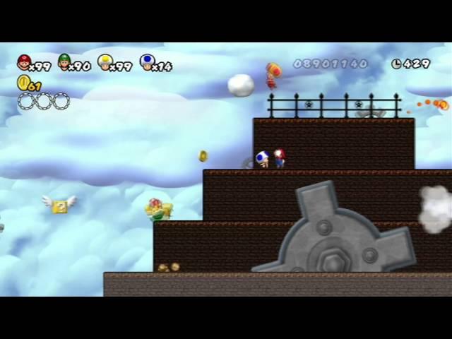 Newer Super Mario Bros Wii World C دیدئو Dideo