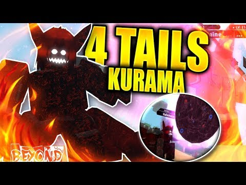 roblox demon tail 4 Tails Kurama Vs Jin Cloak Most Overpowered Mode In Nrpg Beyond Beta Roblox Ibemaine دیدئو Dideo