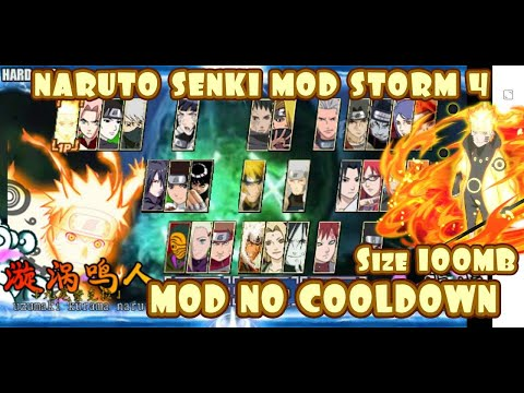 Naruto Shippuden Senki Mod Storm 4 No Cooldown New Update 2020 Download دیدئو Dideo