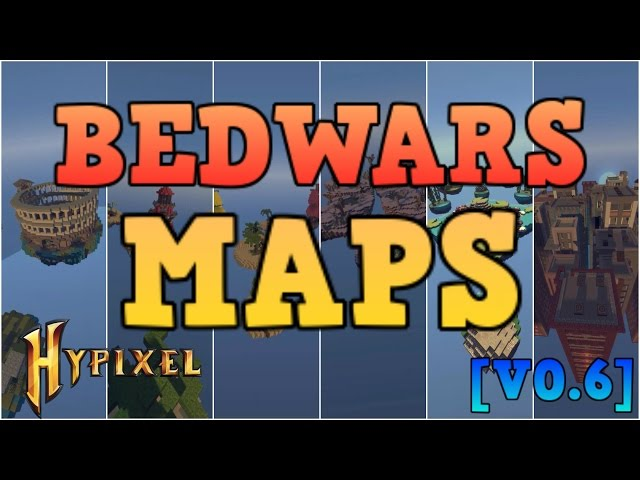 Minecraft Hypixel Bedwars All Maps Showcase Cinematic V0 6 All Bedwars Maps Hypixel دیدئو Dideo