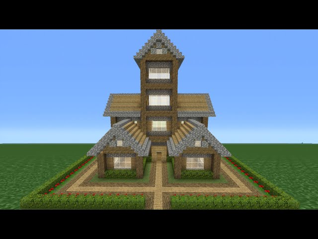 Minecraft Tutorial How To Make A Small Survival House 7 دیدئو Dideo