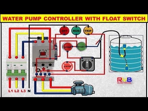 3 Phase Motor Wiring Diagram Water Pump