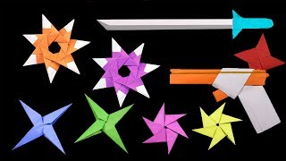 DIY ninja star gun - YouTube | 180x320