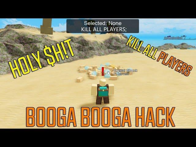 Roblox Booga Booga Hack New Auto Kill Fly Jump Inf Gold Free