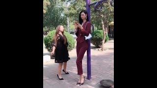 Short woman very man tall Tall Women