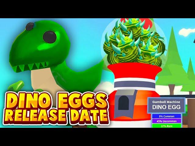 Countdown Adopt Me Adopt Me Roblox Adopt Me Dino Egg Release Date Adopt Me New Dinosaur Update Countdown Roblox Adopt Me News دیدئو Dideo