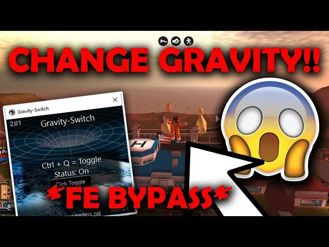 How To Hack A Roblox Game 2015 Fe Bypass New Hack Gravity Switch Working Change Gravity Of Any Game Fly Space Hack دیدئو Dideo