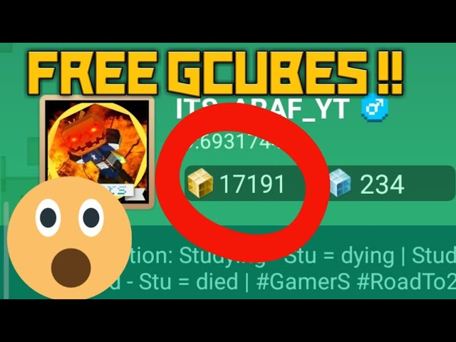 How To Get Free Gcubes Blockmango دیدئو Dideo