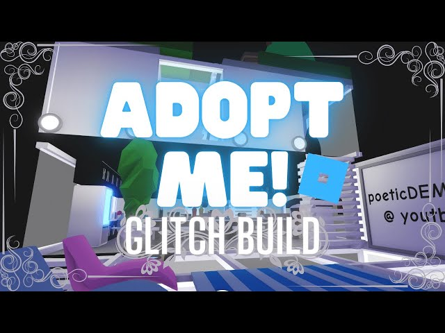 Little Mansion Tiny Home Glitch Build Tour Hack Build Adopt Me Roblox دیدئو Dideo