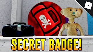How To Get The And Badges A Secret Skin In Bear Roblox