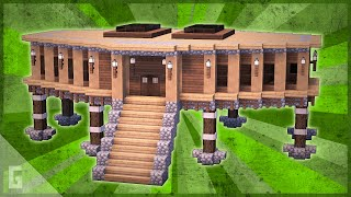 Minecraft How To Build A Large Modern House Tutorial 9 دیدئو Dideo