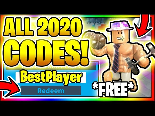 How To Get Auto Clicker For Roblox Weight Lifting Simulator 2020 All New Secret Op Working Codes Roblox Weight Lifting Simulator 3 دیدئو Dideo