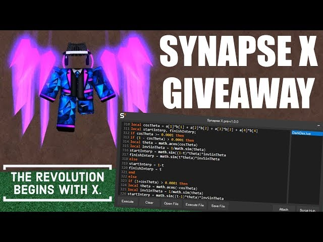 Synapse X Roblox Exploit Showcase Giveaway دیدئو Dideo