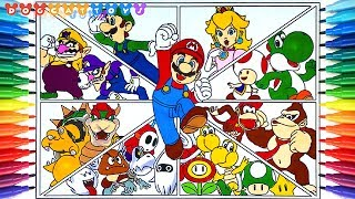 mario odyssey bosses coloring pages