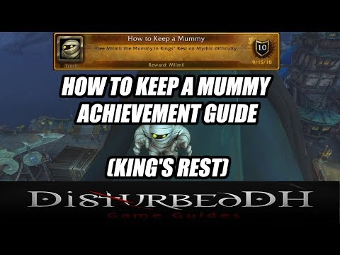 How To Keep A Mummy Achievement Miimii Mummy Pet Glory Of The Wartorn Hero Guide King S Rest دیدئو Dideo How to keep a mummy. dideo