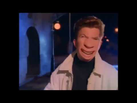 Never Gonna Give You Up Voice Crack دیدئو Dideo