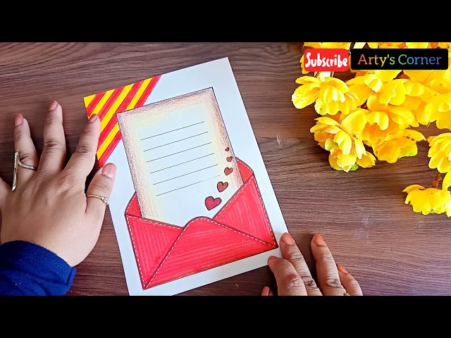 Border Design On Paper Designs For Front Page Border For Project Assignment By Arty S Corner دیدئو Dideo Page borders design border design project cover page page decoration scrapbook frames borders for paper education humor kokeshi dolls printable labels. border design on paper designs for