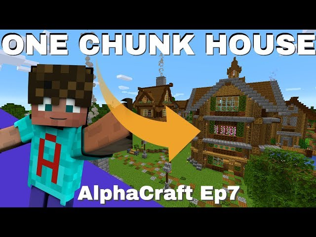 Minecraft Smp How To Build A One Chunk House In Survival Alphacraft S2 Ep7 Avomance 2019 دیدئو Dideo