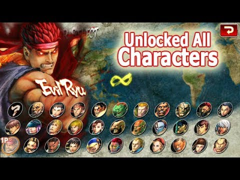 Street Fighter 4 Champion Edition Mod Apk Unlocked All Characters