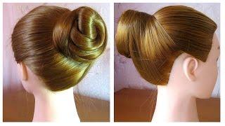 Tuto Coiffure Facile Chignon Bas Simple Simple Low Bun Hairstyle Peinado Recogido Bajo Facil دیدئو Dideo
