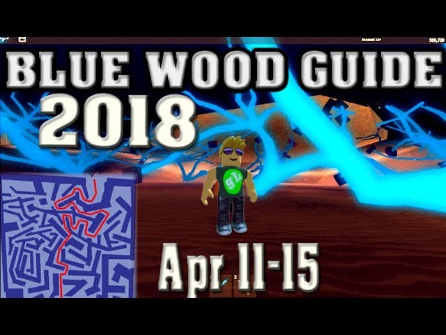 Roblox Lumber Tycoon 2 Blue Wood Maze Guide Road Map 11 04 2018