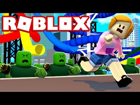 Roblox Escape The Zombie Pool With Baby Kira Molly 2 Player