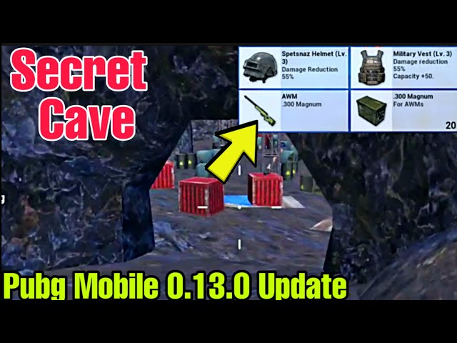 Pubg Mobile 0 13 0 Update Secret Trick Location For Find Awm And Level 3 Loot Without Air Drop دیدئو Dideo