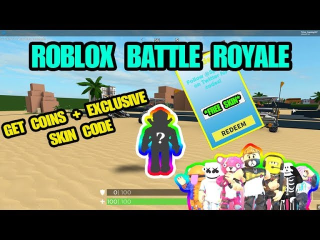 Exclusive Skin Code Roblox Battle Royale Simulator New Codes