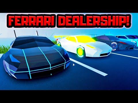 Robbing A Ferrari Dealership Roblox Jailbreak دیدئو Dideo