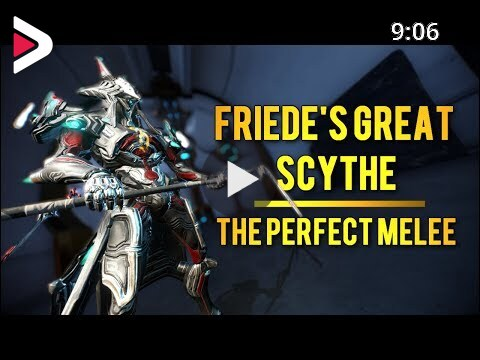 Friede S Great Scythe The Perfect Melee In Warframe دیدئو Dideo