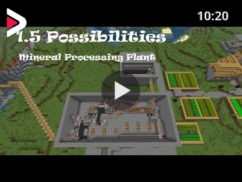 1 5 Possibilities Mineral Processing Plant دیدئو Dideo