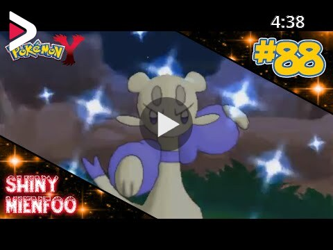 Live Shiny Mienfoo In Y After 40 Radar Chain دیدئو Dideo