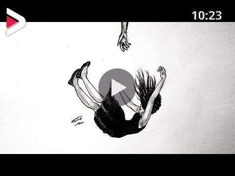 رسم سهل بالرصاص سلسلة الرسوم التعبيرية 17 دیدئو Dideo
