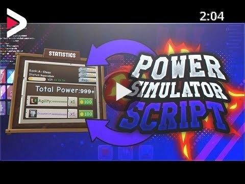 Lua C Script Executor Roblox 2019 New Roblox Power Simulator Hack Script Autofarm All Stats More دیدئو Dideo