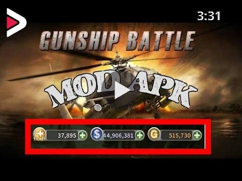 Gunship Battle Helicopter 3D v2.5.70 Mega Mod Apk Download & Gameplay دیدئو  dideo