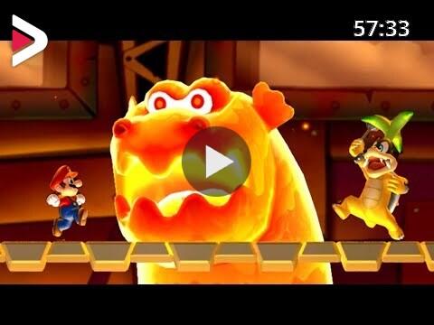 New Super Mario Bros U Deluxe Walkthrough World 5 Soda Jungle