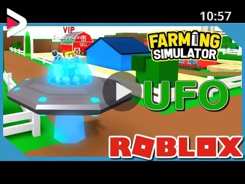 Farming Simulator On Roblox Buying The Ufo In Roblox Farming Simulator دیدئو Dideo